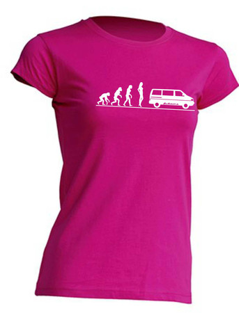 Evolution Lady T4-Bus T-Shirt Busliebe24 – Bild 1
