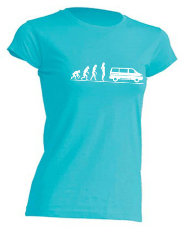 Evolution Lady T4-Bus T-Shirt Busliebe24 – Bild 10