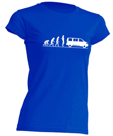 Evolution Lady T5-Bus T-Shirt Busliebe24 – Bild 2