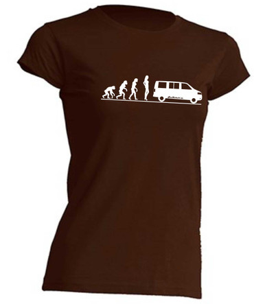 Evolution Lady T5-Bus T-Shirt Busliebe24 – Bild 3