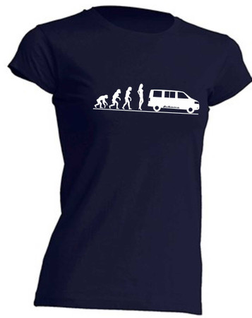 Evolution Lady T5-Bus T-Shirt Busliebe24 – Bild 4