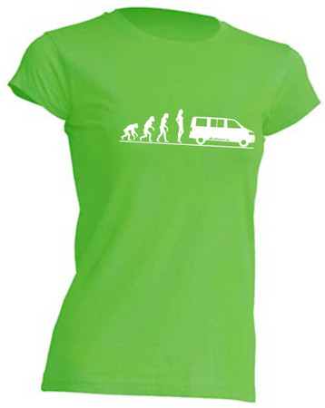 Evolution Lady T5-Bus T-Shirt Busliebe24 – Bild 1