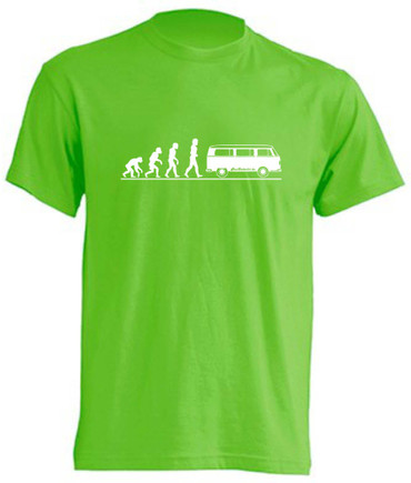 Evolution T2-Bus T-Shirt Busliebe24 – Bild 1