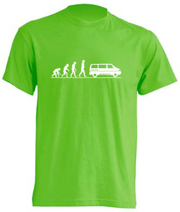 Evolution T4-Bus T-Shirt Busliebe24 – Bild 7