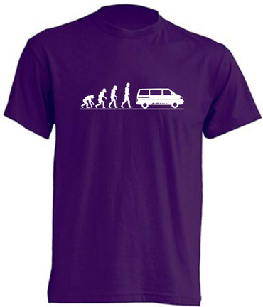 Evolution T4-Bus T-Shirt Busliebe24 – Bild 1