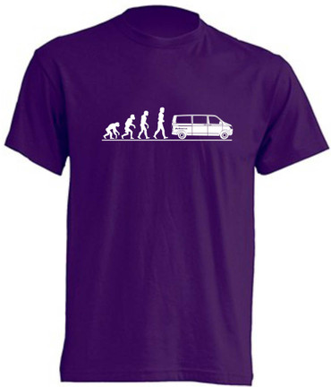 Evolution T6-Bus T-Shirt Busliebe24 – Bild 1
