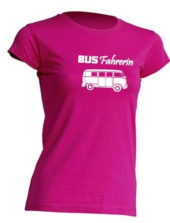 Busfahrerin T1-Bus T-Shirt Busliebe24 – Bild 11