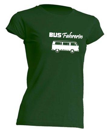 Busfahrerin T2-Bus T-Shirt Busliebe24 – Bild 5