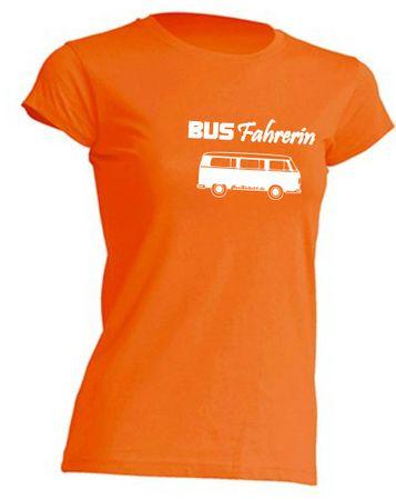Busfahrerin T2-Bus T-Shirt Busliebe24 – Bild 8