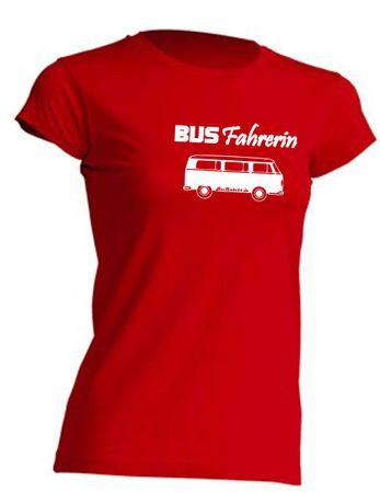 Busfahrerin T2-Bus T-Shirt Busliebe24 – Bild 10