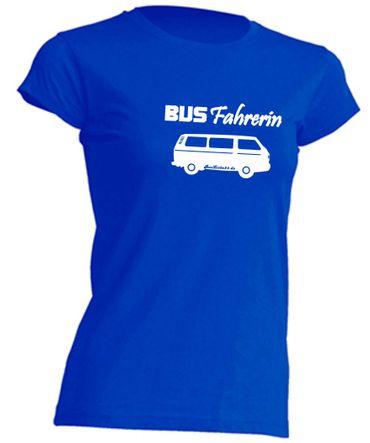 Busfahrerin T3-Bus T-Shirt Busliebe24 – Bild 3