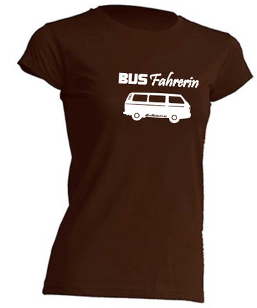 Busfahrerin T3-Bus T-Shirt Busliebe24 – Bild 1