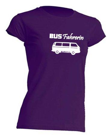 Busfahrerin T3-Bus T-Shirt Busliebe24 – Bild 7