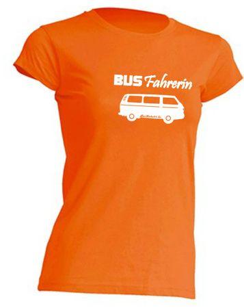 Busfahrerin T3-Bus T-Shirt Busliebe24 – Bild 2