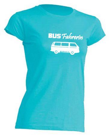 Busfahrerin T3-Bus T-Shirt Busliebe24 – Bild 8