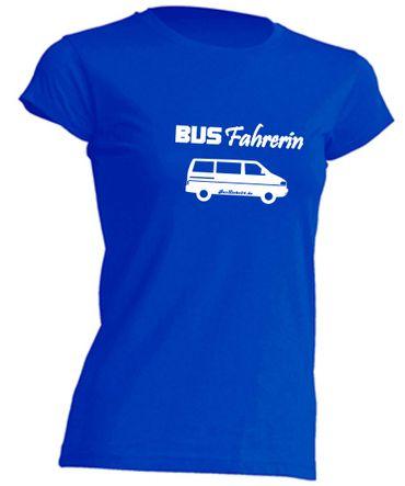 Busfahrerin T4-Bus T-Shirt Busliebe24 – Bild 2