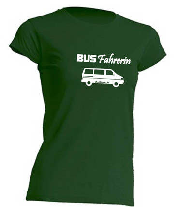 Busfahrerin T4-Bus T-Shirt Busliebe24 – Bild 5