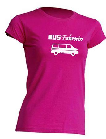 Busfahrerin T4-Bus T-Shirt Busliebe24 – Bild 9