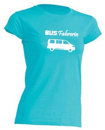 Busfahrerin T5-Bus T-Shirt Busliebe24 – Bild 6