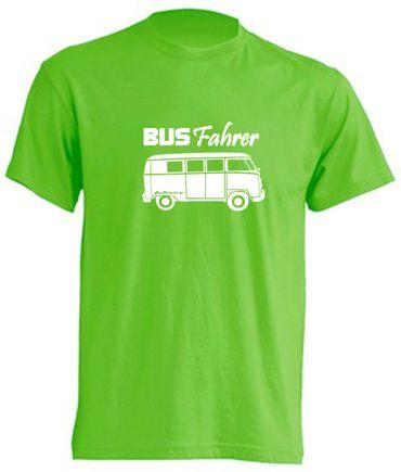 Busfahrer T1-Bus T-Shirt Busliebe24 – Bild 7