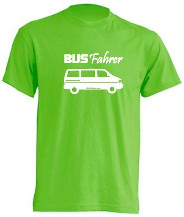 Busfahrer T4-Bus T-Shirt Busliebe24 – Bild 1