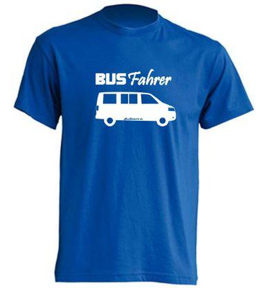 Busfahrer T5-Bus T-Shirt Busliebe24 – Bild 2