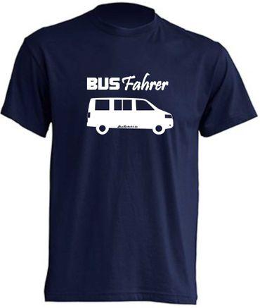 Busfahrer T5-Bus T-Shirt Busliebe24 – Bild 4