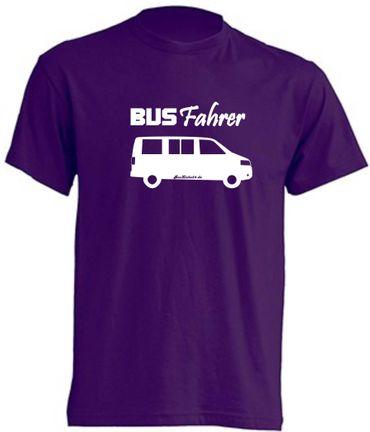 Busfahrer T5-Bus T-Shirt Busliebe24