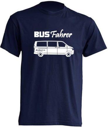 Busfahrer T6-Bus T-Shirt Busliebe24 – Bild 4