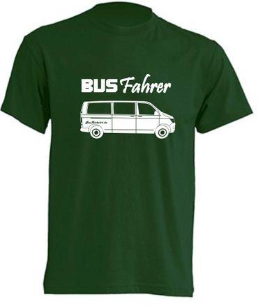 Busfahrer T6-Bus T-Shirt Busliebe24 – Bild 1