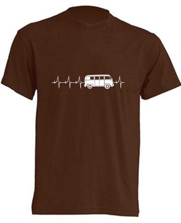 Herzschlag T1-Bus T-Shirt Busliebe24 – Bild 3