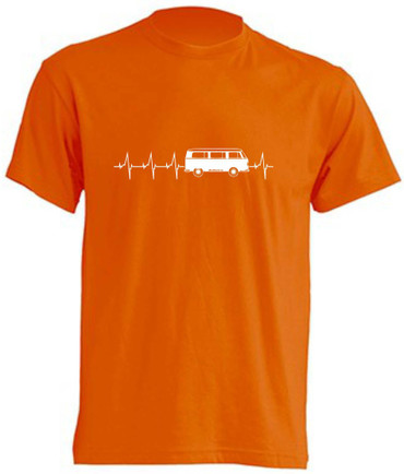 Herzschlag T2-Bus T-Shirt Busliebe24 – Bild 5