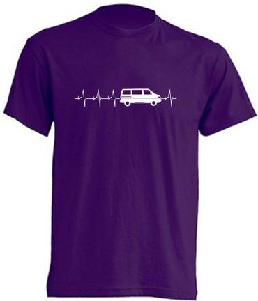 Herzschlag T4-Bus T-Shirt Busliebe24 – Bild 5