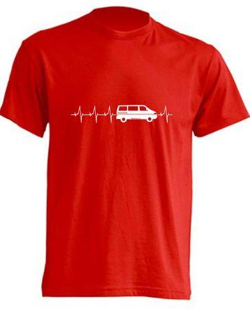 Herzschlag T4-Bus T-Shirt Busliebe24 – Bild 7