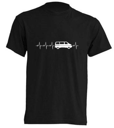 Herzschlag T4-Bus T-Shirt Busliebe24 – Bild 6