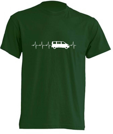 Herzschlag T5-Bus T-Shirt Busliebe24 – Bild 8