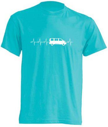 Herzschlag T5-Bus T-Shirt Busliebe24 – Bild 11