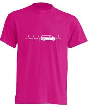 Herzschlag T6-Bus T-Shirt Busliebe24 – Bild 12