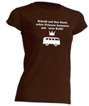 Scheiss auf den Gaul.. T1-Bus-T-Shirt  -Girly- Busliebe24 001