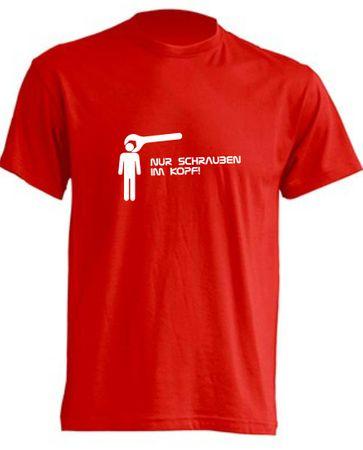 Nur Schrauben im Kopf-Bus T-Shirt Busliebe24 – Bild 1