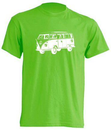 cooles T1-Bus T-Shirt  - Busliebe24 – Bild 7