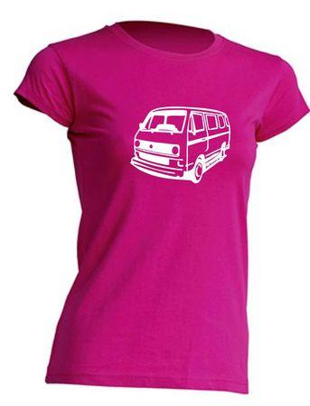 T3-Bus(runde Scheinwerfer) Lady T-Shirt Busliebe24 – Bild 9