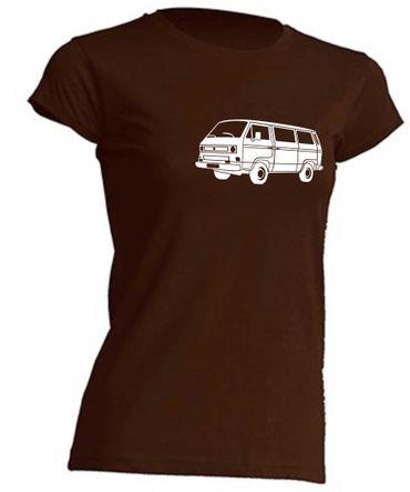 T4-Bus Lady T-Shirt Busliebe24  – Bild 3
