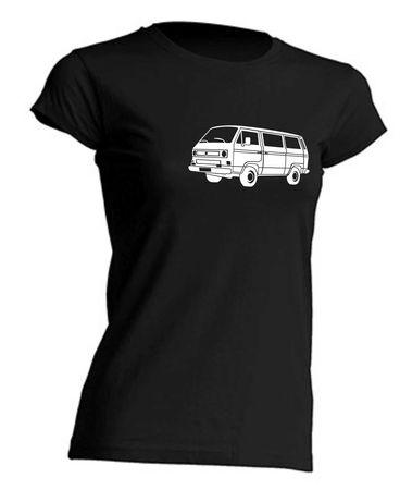 T4-Bus Lady T-Shirt Busliebe24  – Bild 11