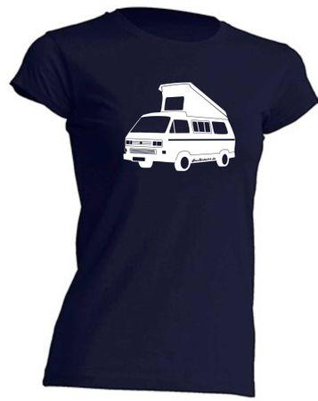 T3 Faltdach-Bus Lady-T-Shirt Busliebe24 – Bild 4