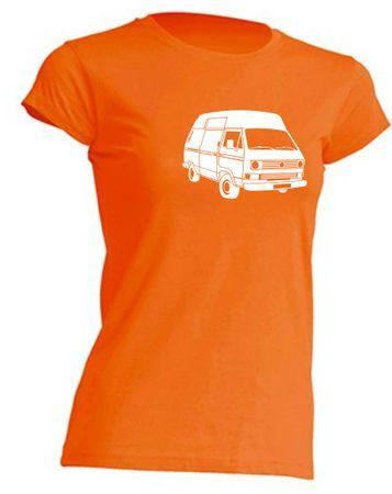 T3 Postbus-Bus Lady-T-Shirt Busliebe24 – Bild 4