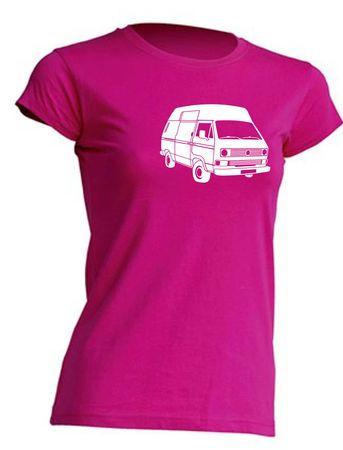T3 Postbus-Bus Lady-T-Shirt Busliebe24 – Bild 11