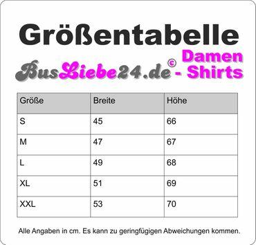 T3 Postbus-Bus Lady-T-Shirt Busliebe24 – Bild 12