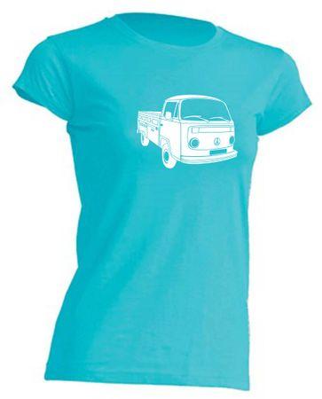 T3 Pritsche-Bus Lady-T-Shirt Busliebe24 – Bild 11