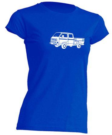 T3 Doka-Bus Lady-T-Shirt Busliebe24 – Bild 5